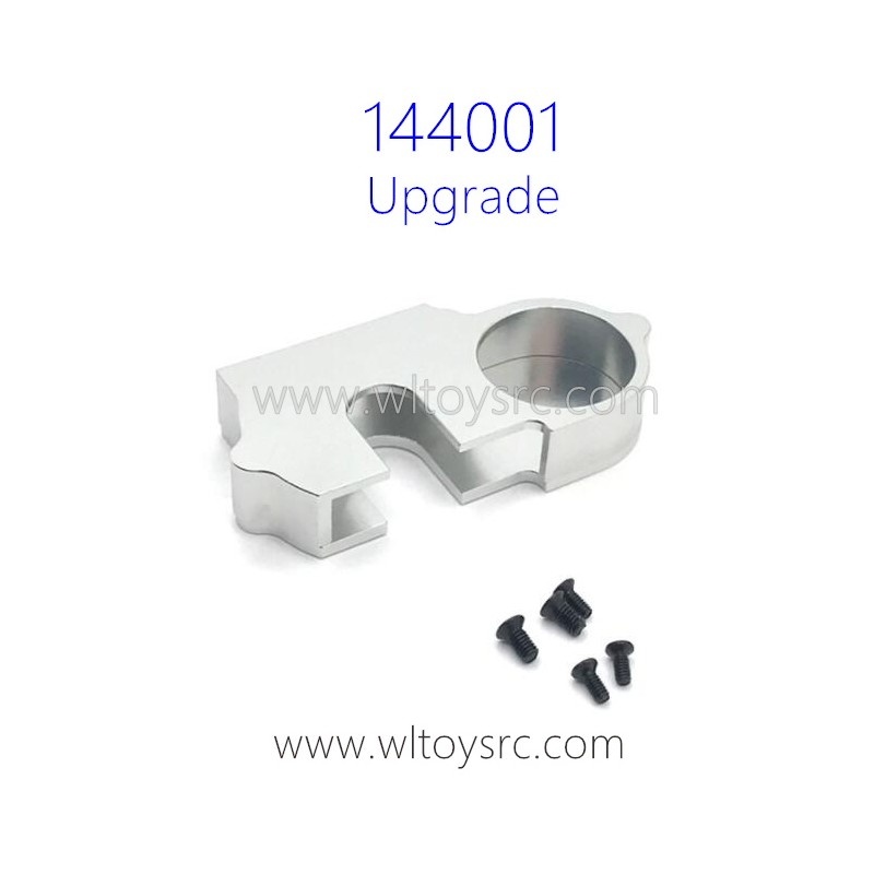 WLTOYS 144001 Upgrade Parts Cover for Big Gear Silver