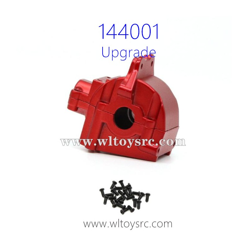 WLTOYS 144001 1/14 Upgrade Parts Differential Case Red