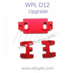 WPL D12 Upgrades Metal Swing Arm Red