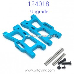 WLTOYS 124018 Upgrade parts, Rear Swing Arm Metal Spare Parts
