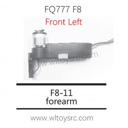 FQ777 F8 RC Drone Parts-F8-11 Front Left Motor Arm kit