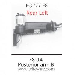 FQ777 F8 Drone Parts-F8-14 Rear Left Motor Arm kit
