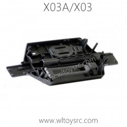 XLF X03A X03 RC Car Vehicle Bottom C12002