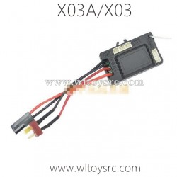 XLF X03A X03 RC Car Brushless Receiver