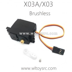 XLF X03A X03 RC Car Brushless Servo