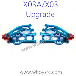 XLF X03A X03 RC Car Upgrade Metal Rear Swing Arm Kit