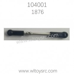WLTOYS 104001 1/10 RC Car Parts Steering Gear Pull Rod 1876