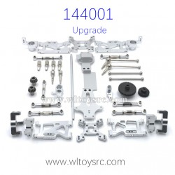WLTOYS 144001 Upgrade Parts Spur Gear and Metal Swing Arm set