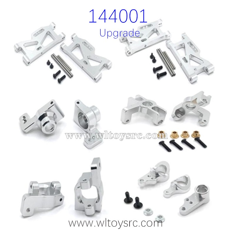 WLTOYS 144001 Upgrade Parts Metal Swing Arm set included Shaft