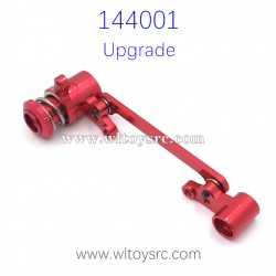 WLTOYS 144001 RC Car Upgrade Parts Steering Set Red