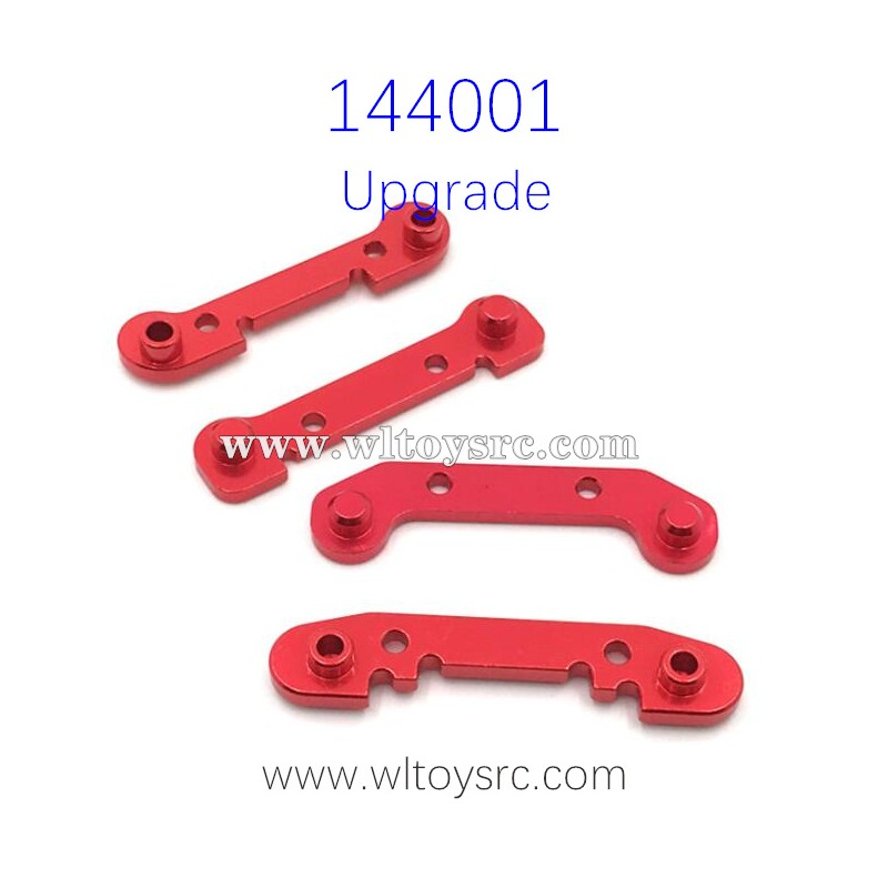 WLTOYS 144001 Upgrade Parts Reinforced connecting piece  Red
