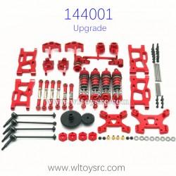 WLTOYS 144001 Metal Upgrade Parts Big Gear Bone Dog Shaft Set