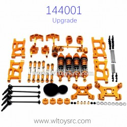 WLTOYS 144001 Metal Upgrade Parts Big Gear Golden