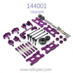 WLTOYS 144001 Metal Upgrade Purple