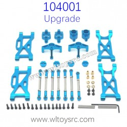 WLTOYS 104001 Upgrade Parts Metal Swing Arm and Connect Rod kit