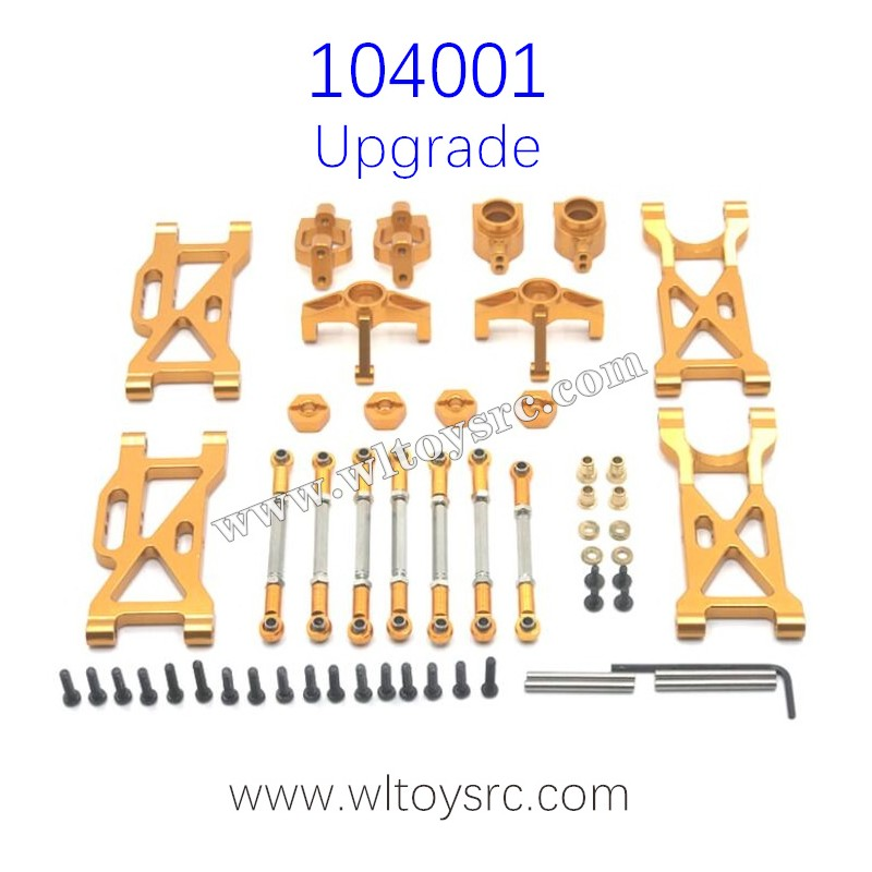 WLTOYS 104001 Upgrade Parts Metal Swing Arm and C-type Seat