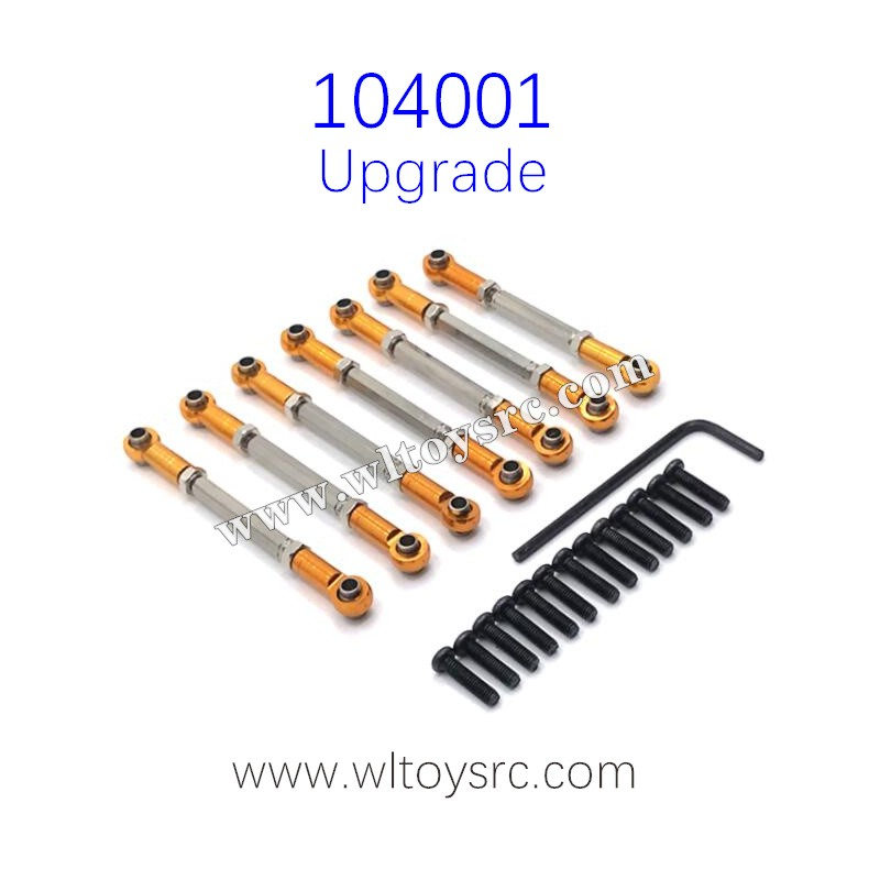 WLTOYS 104001 RC Car Upgrade Parts Connect Rod
