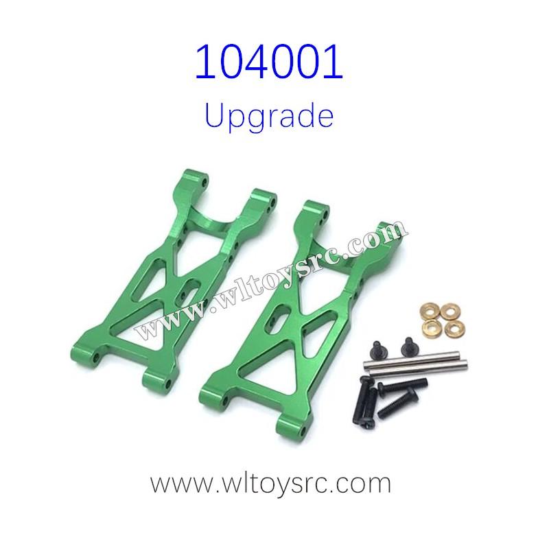 WLTOYS 104001 RC ar Upgrades Rear Swing Arm Metal Parts