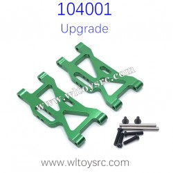 WLTOYS 104001 Upgrades Parts Front Swing Arm Green