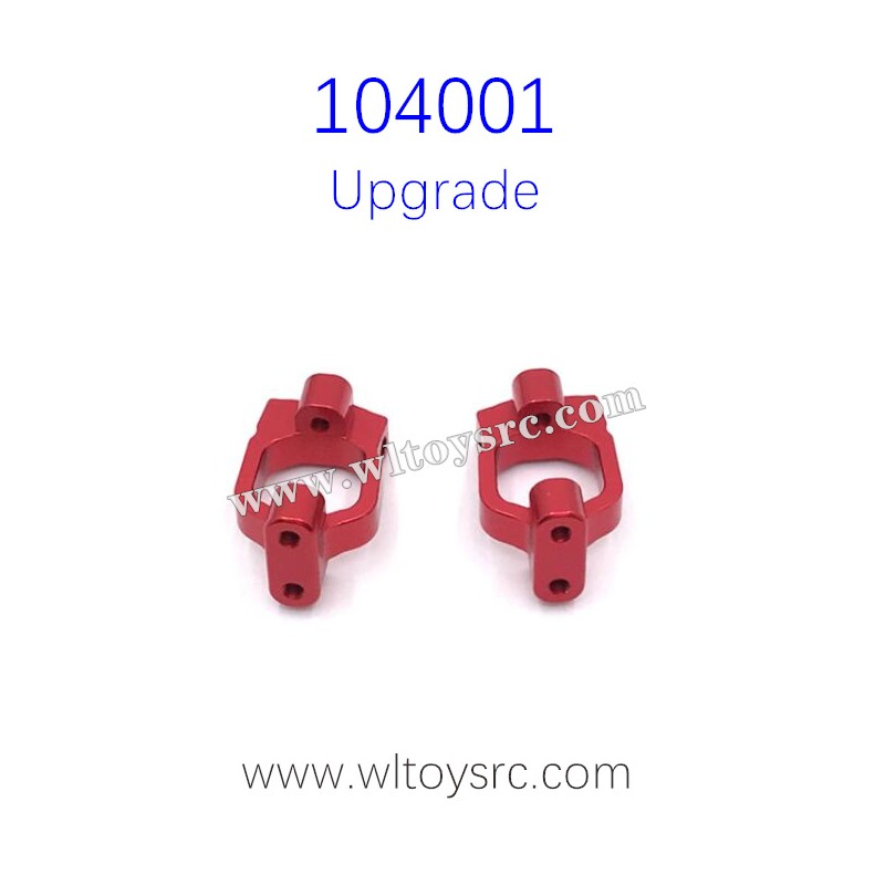 WLTOYS 104001 Upgrade Parts C-Type Seat Red