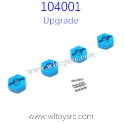 WLTOYS 104001 RC Buggy Upgrade Parts Hex Nut with Pins