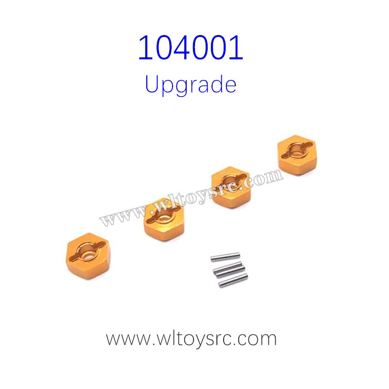 WLTOYS 104001 Upgrade Parts Hex Nut with Pins