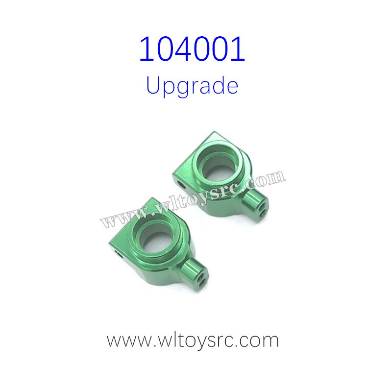 WLTOYS 104001 Upgrade Parts Rear Wheel Cups Green