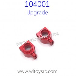 WLTOYS 104001 Upgrade Parts Rear Wheel Cups Red