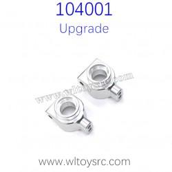 WLTOYS 104001 Upgrade Parts Rear Wheel Cups Grey