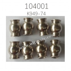 K949-74 6.0X7.9 Ball Head Parts For WLTOYS 104001 1/10 RC Car