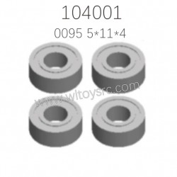 0095 Rolling Bearing Parts For WLTOYS 104001 1/10 RC Car