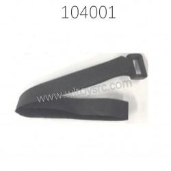 1651 Magic strap 12X330MM Parts For WLTOYS 104001 1/10 RC Car