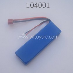 Battery 7.4V 2200mAh Parts For WLTOYS 104001 RC Car