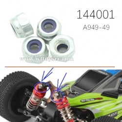 WLTOYS 144001 Parts M3 Nuts