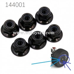 WLTOYS 144001 Parts M3 Locknuts