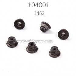 1910 M4 Flange Nut Parts For WLTOYS 104001 RC Car