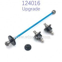 WLTOYS 124016 Upgrade Parts Differential Assembly and Central Shaft