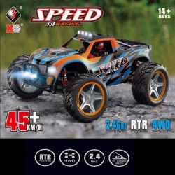 WLTOYS 104009 1/10 Speed Racing RC Truck RTR