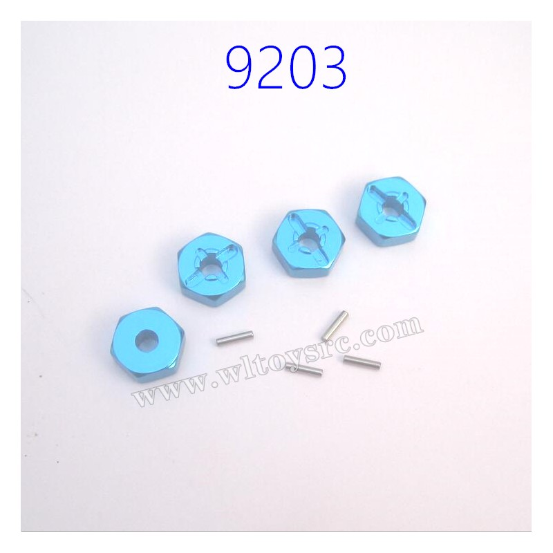 PXTOYS 9203 9203E Off-Road RC Car Upgrade Hex Nuts