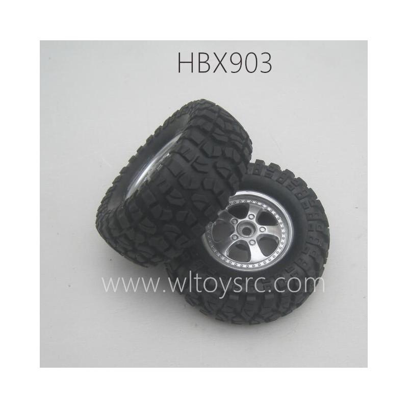 HAIBOXING HBX903 RC Car Parts Tires Assembly