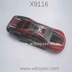 XINLEHONG Toys X9116 Car Shell Yellow