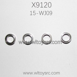 XINLEHONG Toys X9120 Parts Bearing 6.3x9.5x3mm 15-WJ09