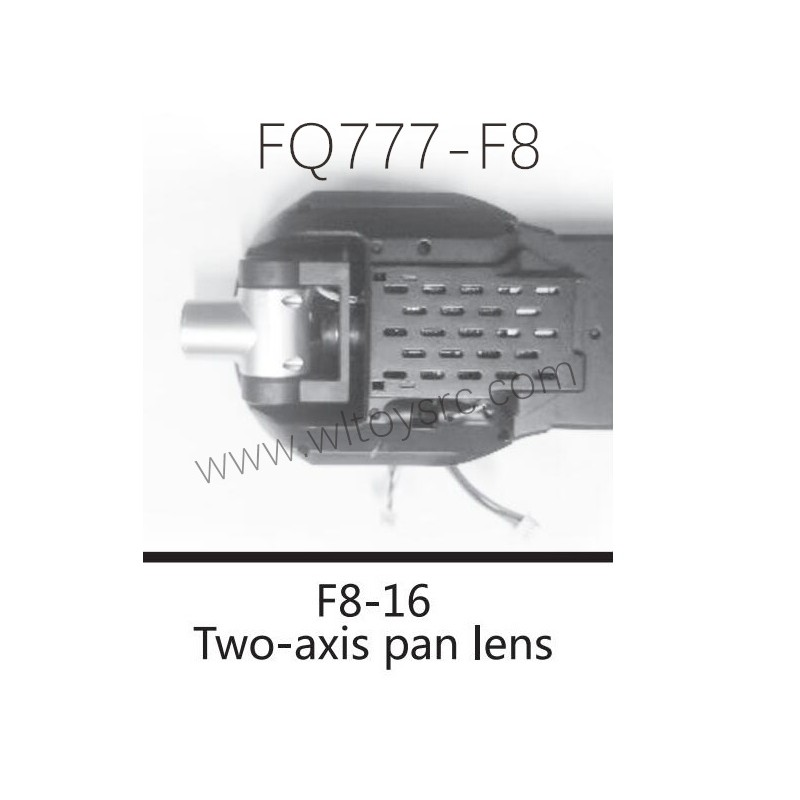 FQ777 F8 Drone Parts F8-16 Two-Axis pan Lens