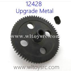 WLTOYS 12428 Upgrade Parts, Metal Big Gear