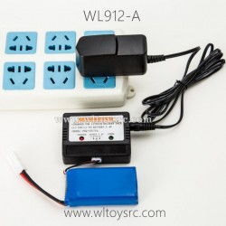 WLTOYS WL912-A Parts Battery and Charger