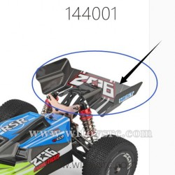 WLTOYS 144001 RC Car Parts, Tail Protect Frame