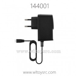WLTOYS 144001 RC Car Parts, Charger for Battery