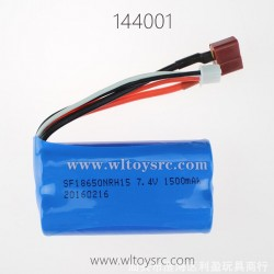 WLTOYS 144001 RC Car Parts, 7.4V Li-ion Battery