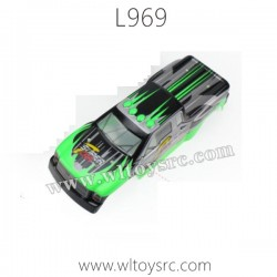 WLTOYS L969 Terminator Parts-Car Shell Green