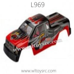 WLTOYS L969 Parts-Car Body Shell